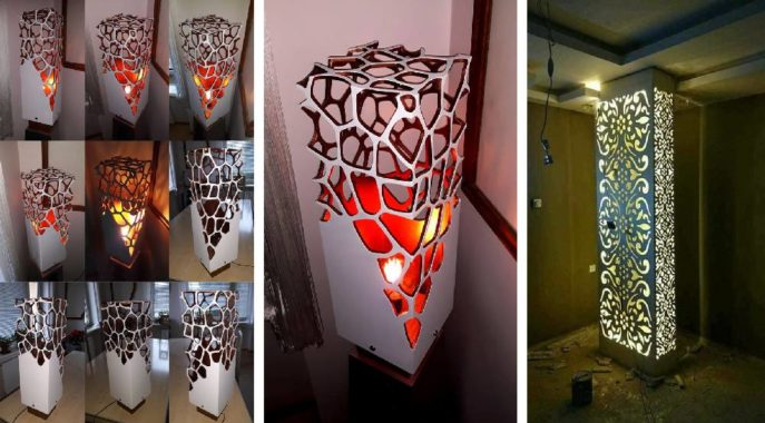 Интерьерные напольные светильники