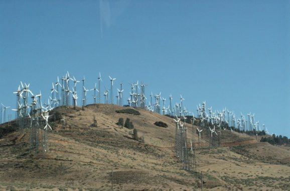 Tehachapi Pass, Калифорния