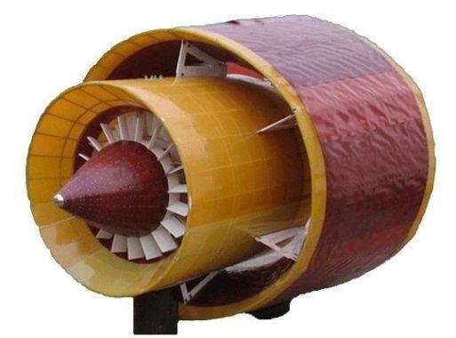 Ветрогенератор турбинного типа с закрытой турбиной