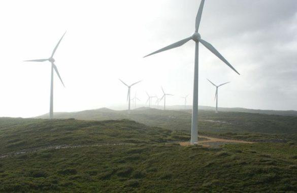 Ветряные фермы Южной Австралии Woodlawn