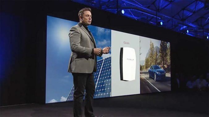 Илон Маск и powerwall - накопитель энергии для дома на 10 кВт