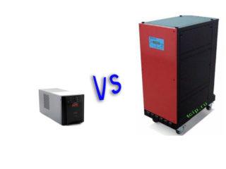 Разница между ИБП (UPS) и накопителем энергии на аккумуляторных батареях