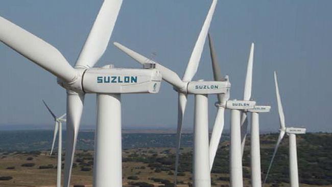 ветроэлектростанция в Индии (штат Раджастан)