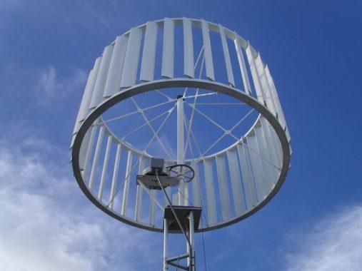 разновидность ветрогенератор с вертикальной осью вращения