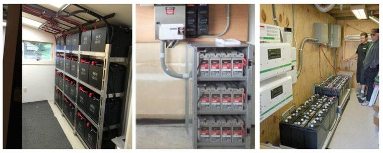 Аккумуляторные сборки для хранения электроэнергии