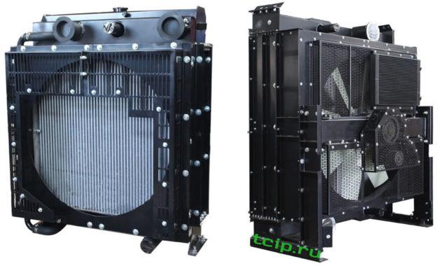 Радиаторы для дизель генераторов (дгу) воздушного охлаждения