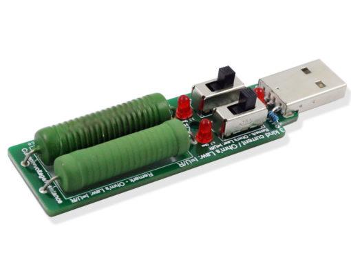 Atorch USB нагрузочный резистор с переключателем