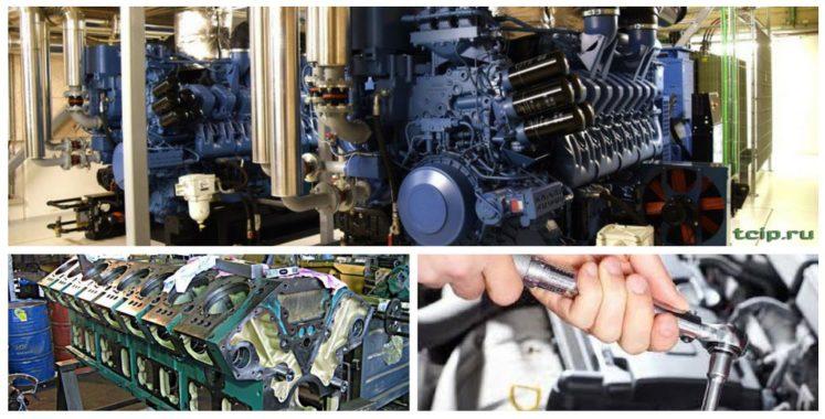 способ производства работ по капитальному ремонту дизель-генератора
