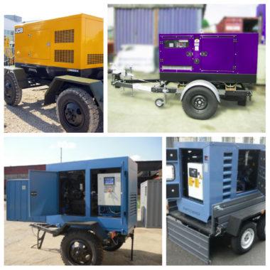 Обзор дизельных генераторов на прицепе
