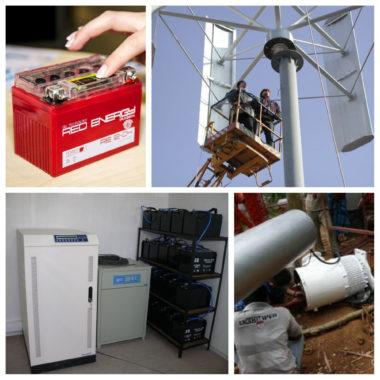 требуется производить замену запчасти и ремонт ветрогенератора при обслуживании