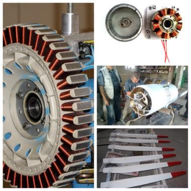 базовые комплектующие для ветрогенератора