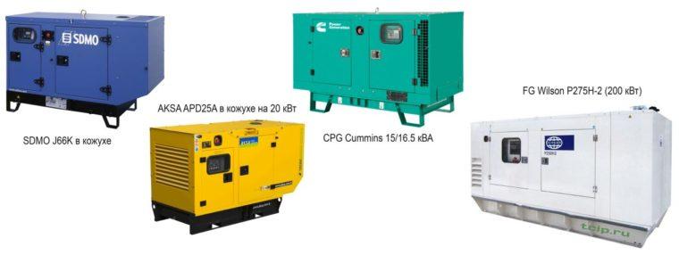 Основные производители дизельных генераторов