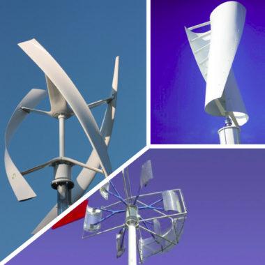 тихоходные ветрогенераторы разного вида