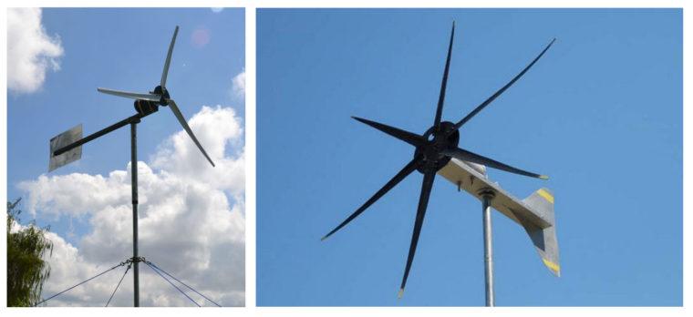 плоский ветрогенератор вертикального типа