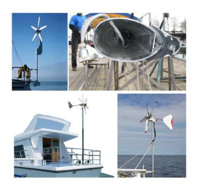 Ветрогенераторы для яхты
