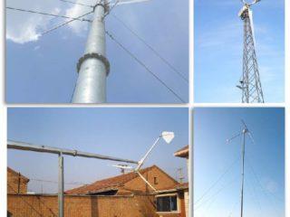 Мачта для ветрогенератора: виды, классификация, производители