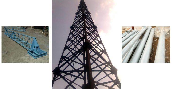 металлические трубы для мачты ветрогенераторов
