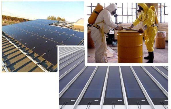 процесс утилизации солнечных панелей