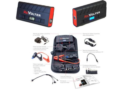Пусковое-зарядное устройство ReVolter Nitro