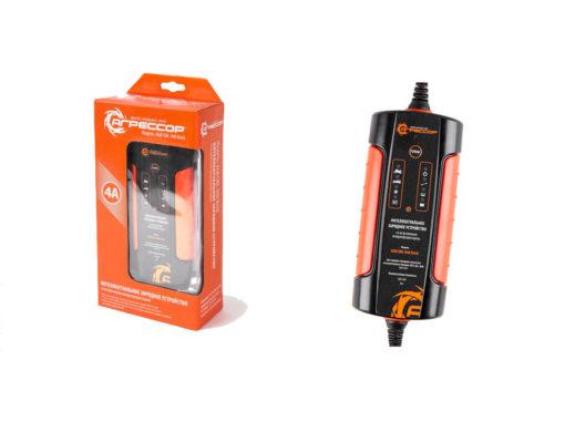 интеллектуальное зарядное устройство Агрессор AGR-SBC-040 Brick для снегохода