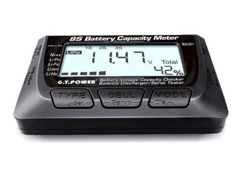 Измеритель емкости батарей