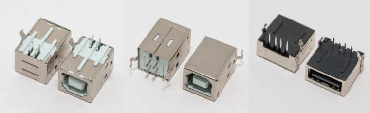 Разъем USB 2.0 тип В, разъем USB 2.0 для ноутбука