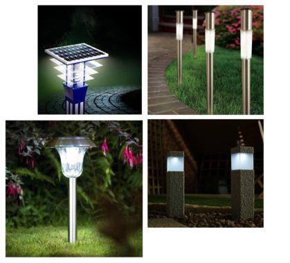обзор моделей садовых светильников на солнечных батареях