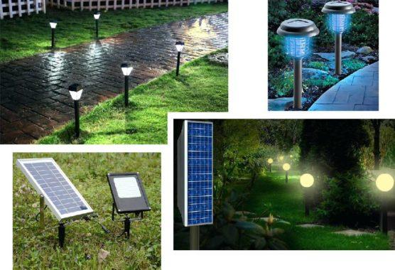 обзор садово-газонных светильников на солнечных батареях