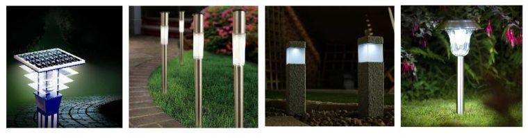 обзор садовых светильников на солнечных батареях
